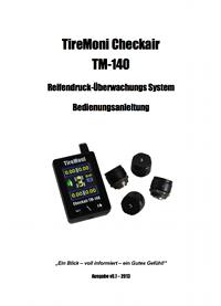TireMoni TM-140 Handbuch
